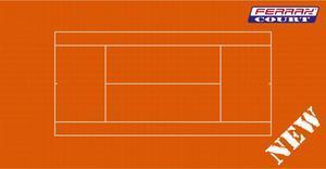 TENIS FERRAX CLAY - umělý tenisový povrch