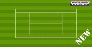 TENIS FERRAX WIM kvalitní umělý tenisový povrch
