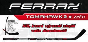 Hůl FERRAX TOMAHAWK 2 Sr, 90-RHT  - 1