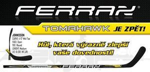 Hůl FERRAX TOMAHAWK Silver 18K - 1