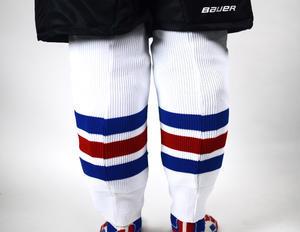 Hokejové pletené štulpny HTA CLASSIC, mini boy  - 2